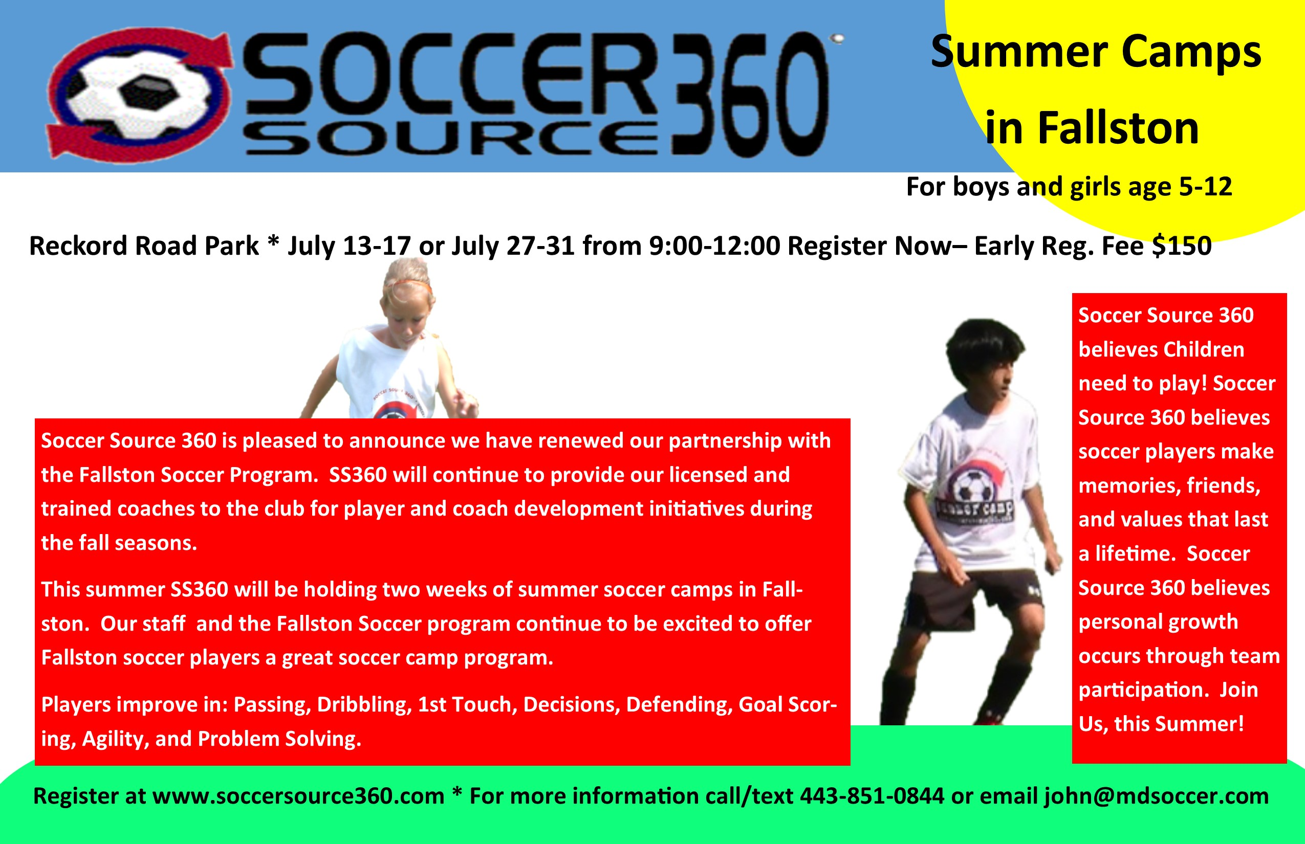 Soccer Source 360 Camp